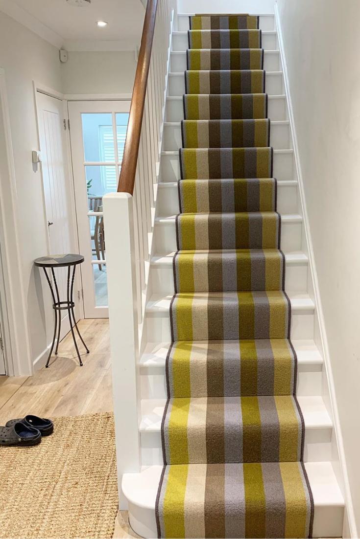 Margo Selby Stripe Sun Whitstable Carpet Patterned