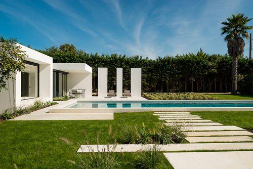 PISCINE & POOL-HOUSE  Architect : Atelier Delphine Carrere  Landscape architect : Atelier 10  Location: Pays-Basque  Project Complete: 2012
