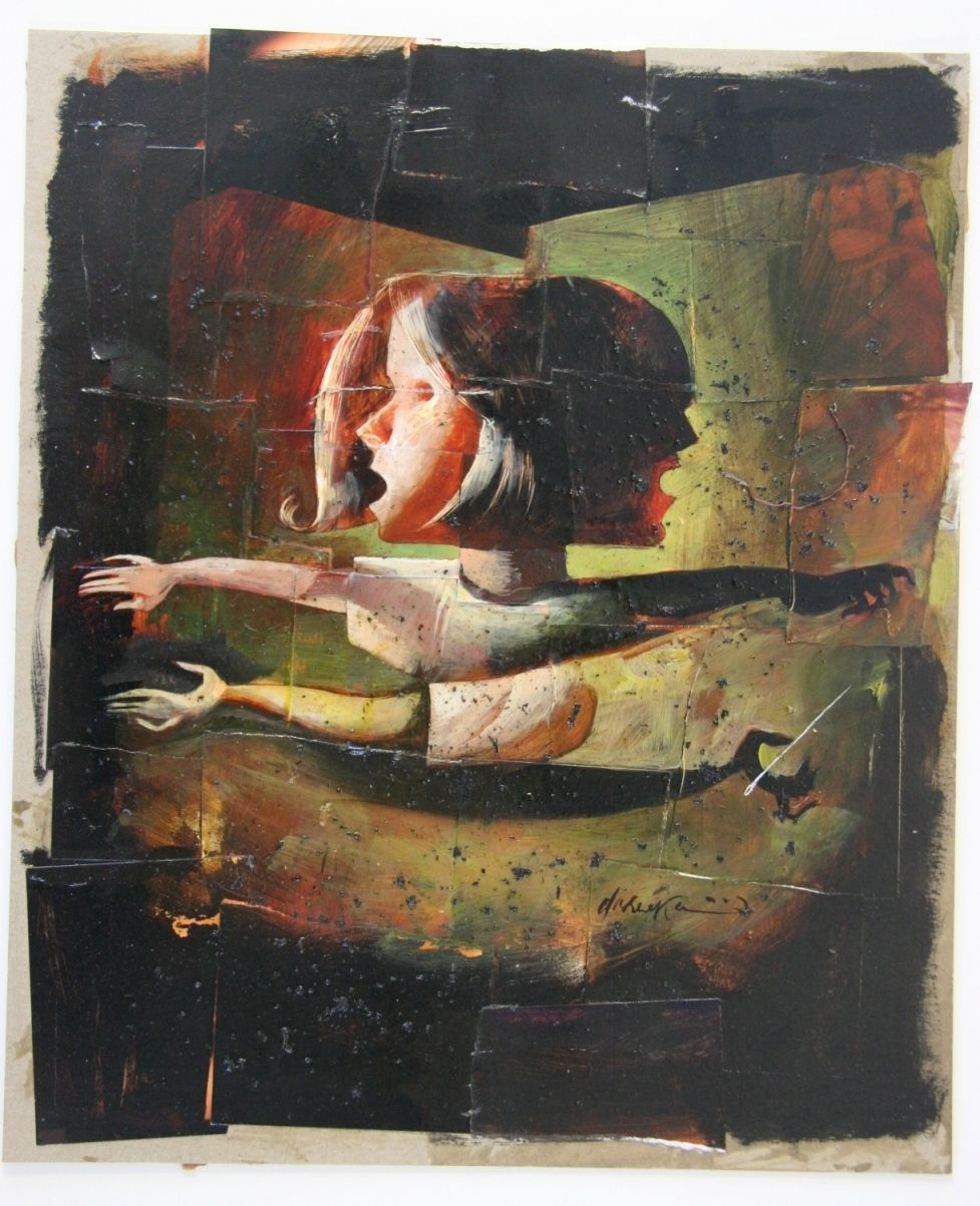 Dave McKean Coraline limited edition special illustration by Dave Mckean in