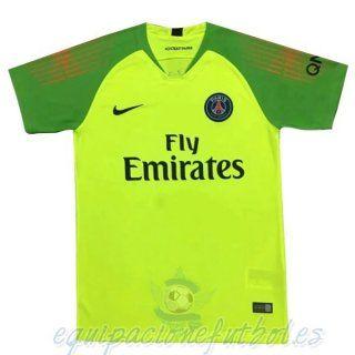 Camiseta Portero Paris Saint Germain 2018 2019 Verde equipacionefutbol 741d64e39023f