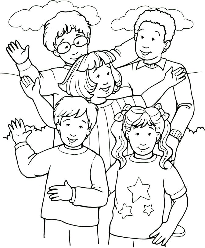 Left Out - Coloring Page | DIY and crafts | Pinterest