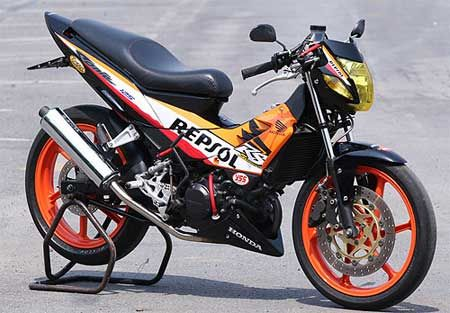Honda Sonic 125rs Repsol Motorcycle Honda Motorcycle Cars