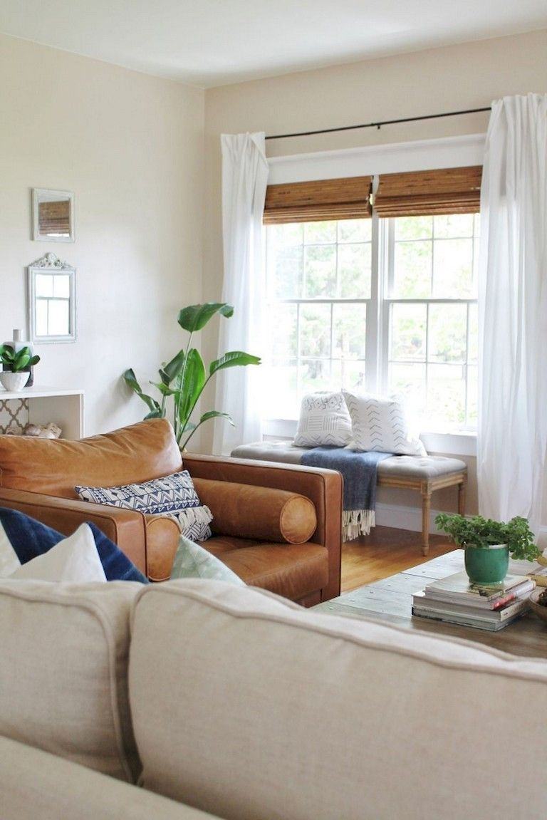 65 Beautiful Farmhouse Living Room Design Ideas Living Room