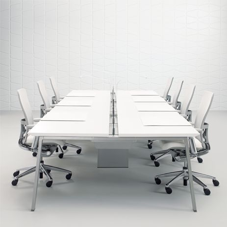 Haworth RBB   Benching Workstations   Pinterest   Conference Table ...
