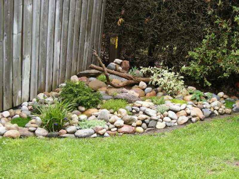 Lovely Inspiring Small Rock Garden Ideas #5 Landscaping With Rock Garden Ideas