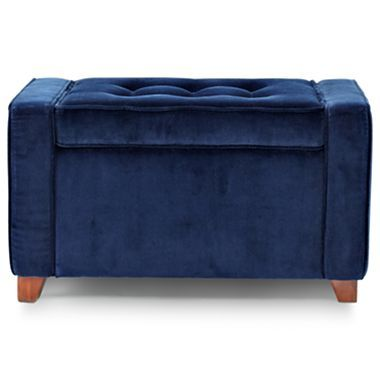 b9a6623274 Happy Chic by Jonathan Adler Crescent Heights Tufted Storage Ottoman -  jcpenney