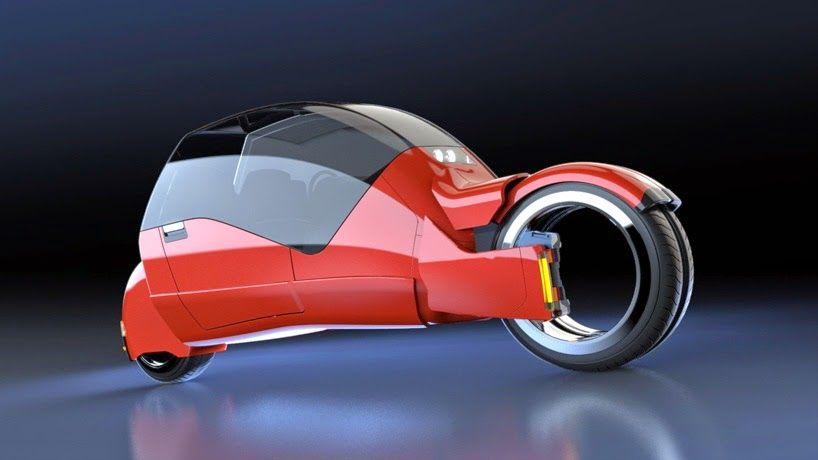 Imaginary World: Argodesign crea el concepto de un coche que se divide en dos motocicletas