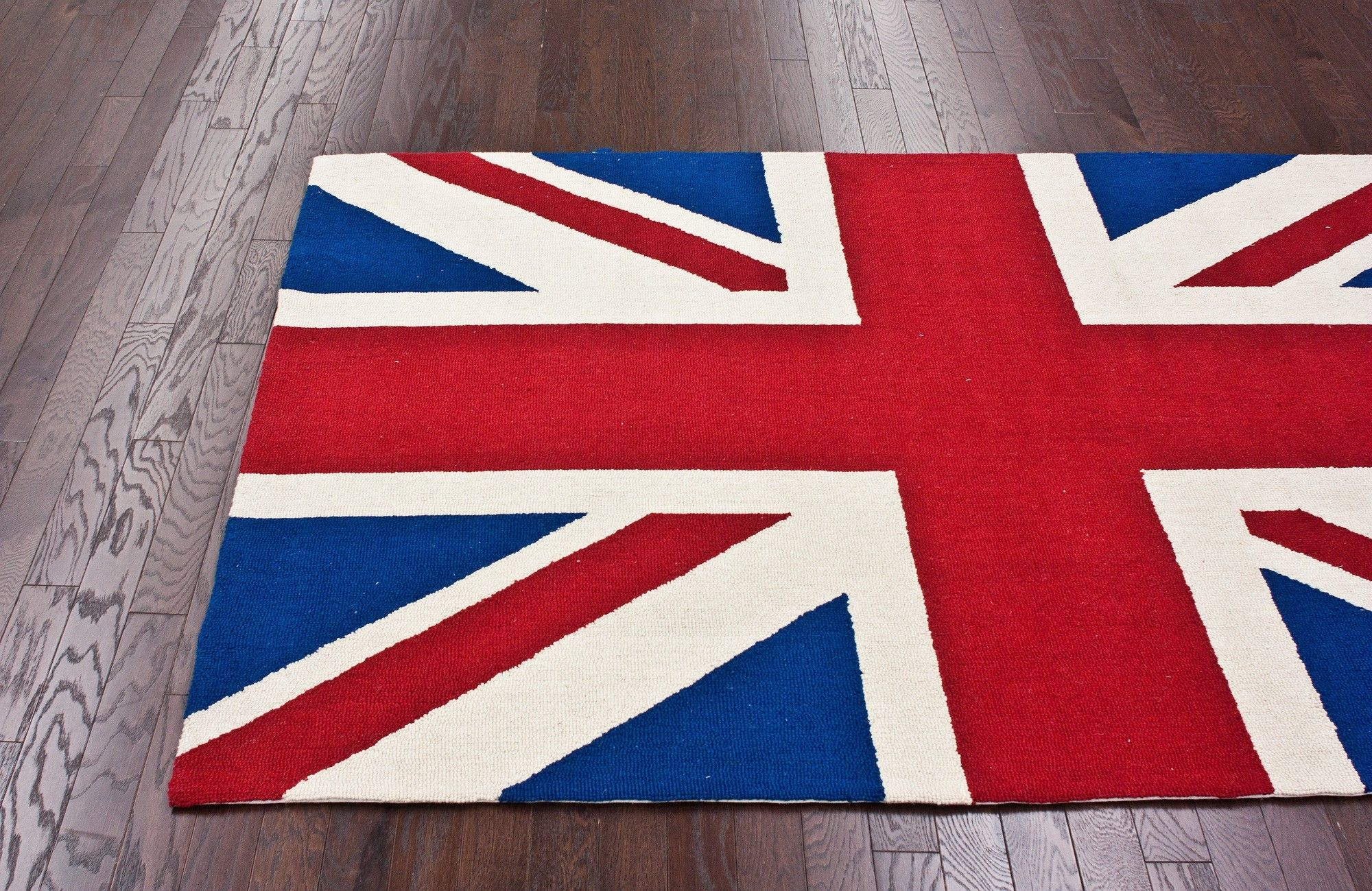 for the kid's room nuLOOM Chelsea Union Jack Red Novelty