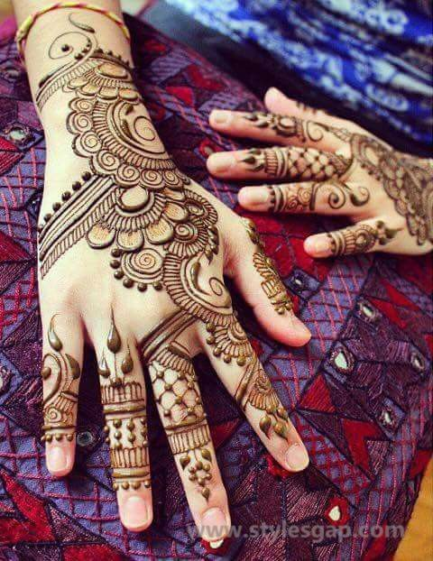 mehndi design 2021 back hand simple
