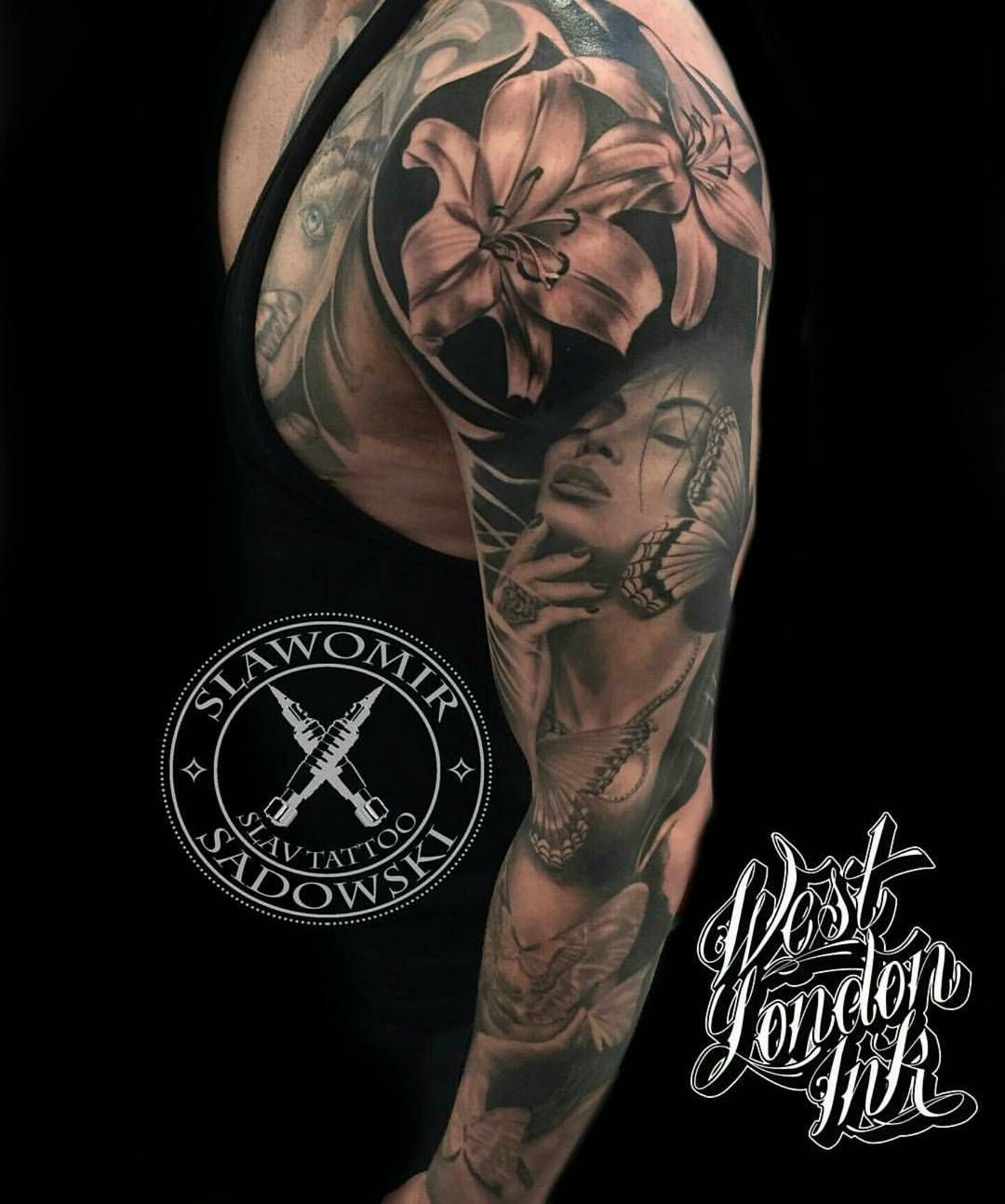 Slawomir Sadowski @slavtattoo London #tattwho #tattoo #tattoos #tattooartist #tattooartists #tattooist #tattooer #artist #tattoolife #instaart #instatattoo #tattoodesign #tattooed #ink #inked #tattooaddict #tattooart #art #photooftheday #instagood #instastyle #instabeauty #bodyart #tattooidea #tattoooftheday #sleeve #blackandgray #realism #london #tattooedgirls