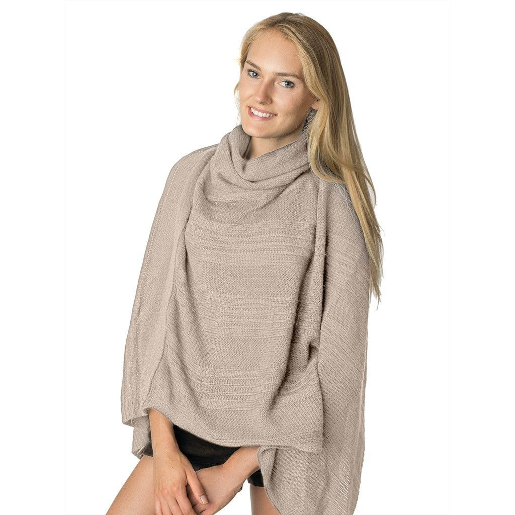 Womens Cowl Neck Sweater Poncho | Women's cowl neck sweaters ...