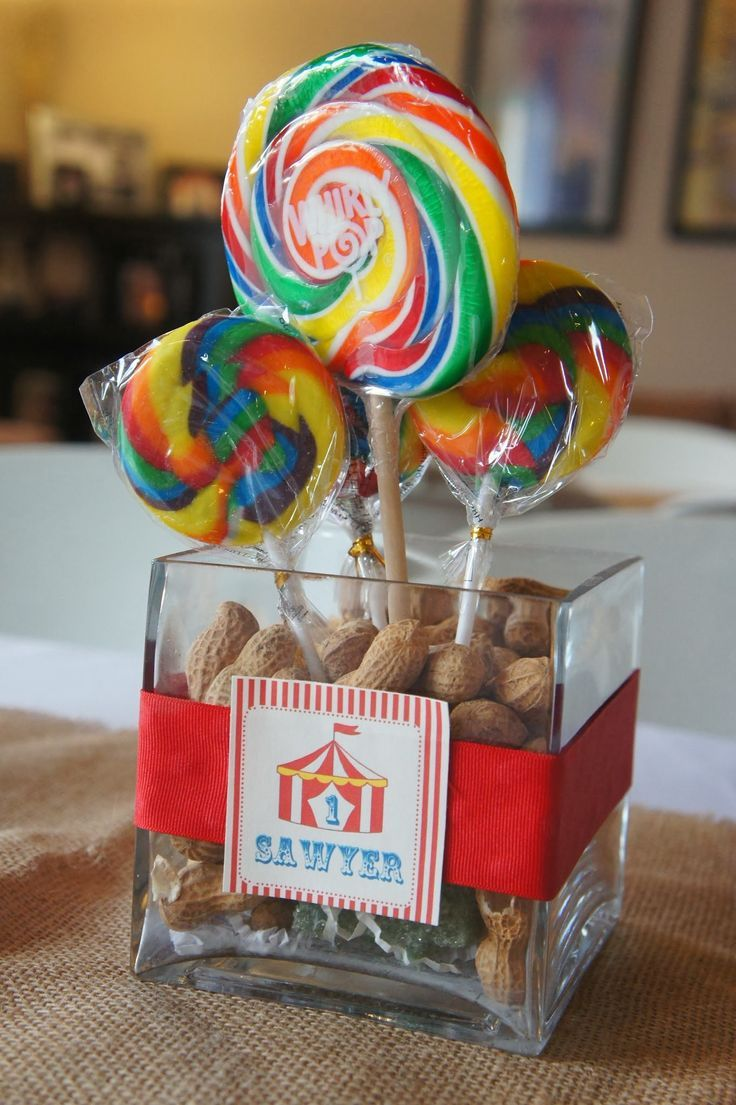 decorations ideas via table centerpieces birthday party cheap decor circus home carnival supplies hats