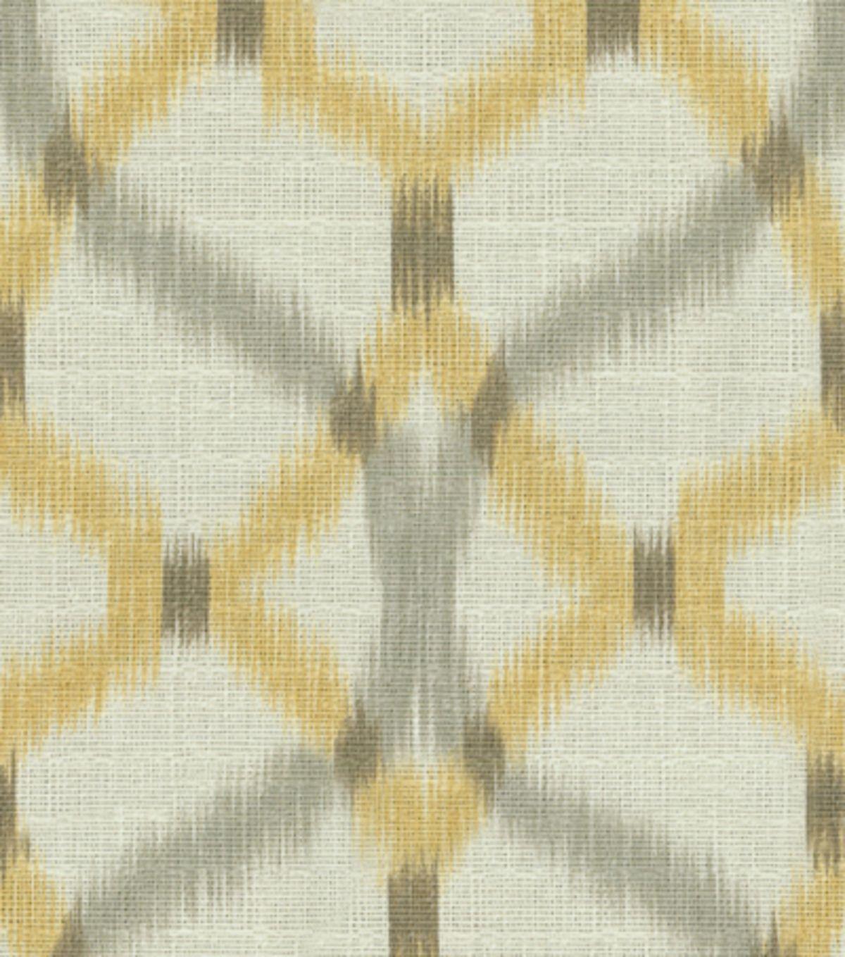 Home Decor Print Fabric Waverly Izmir Ikat/Pumice, , Hi Res Living