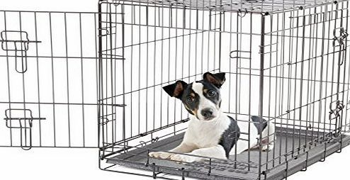 Dogit 2 Door Black Wire Home Small Dogit Two Door Black Wire Home Extra Large New Packaging Two Doors For Convenient A Dog Cages Dog Crate Small Dog Cage