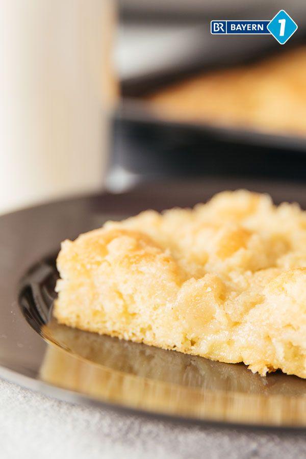 Streuselkuchen Rezept Fur Einen Festtagskuchen Mit Sahneguss Br De Streuselkuchen Streusel Kuchen Blechkuchen Rezepte