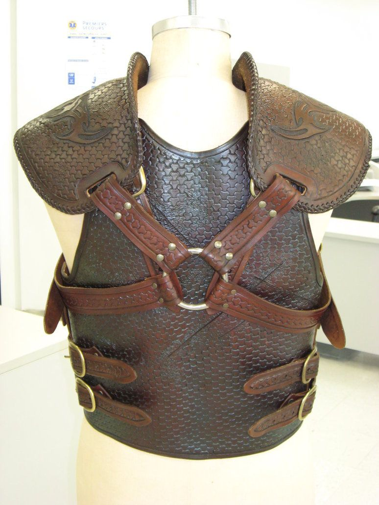 Battle-worn Tribal Armour 2 by ~PeacefulMynd on deviantART