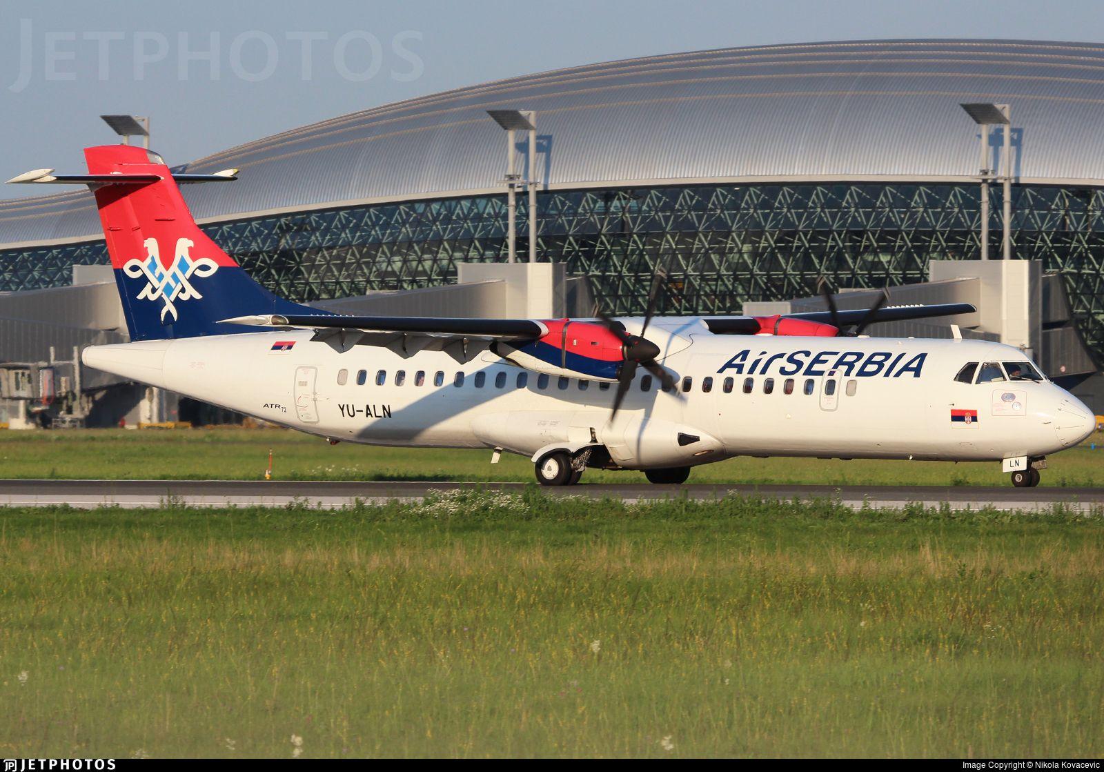 Yu Aln Air Serbia Atr 72 Aircraft Modeling