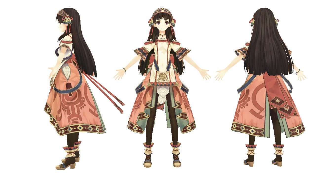 Anime Characters 3d Models : Mmd atelier shallie shallistera by xxsnowcherryxx