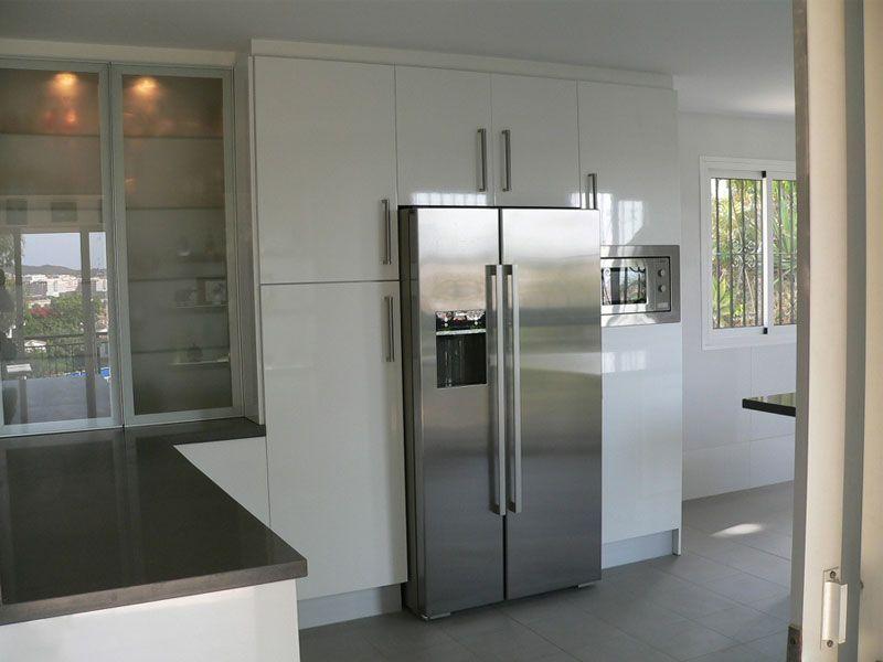 Nevera Combi Muebles Para Salas Pequenas Neveras Americanas Cocinas Reformadas