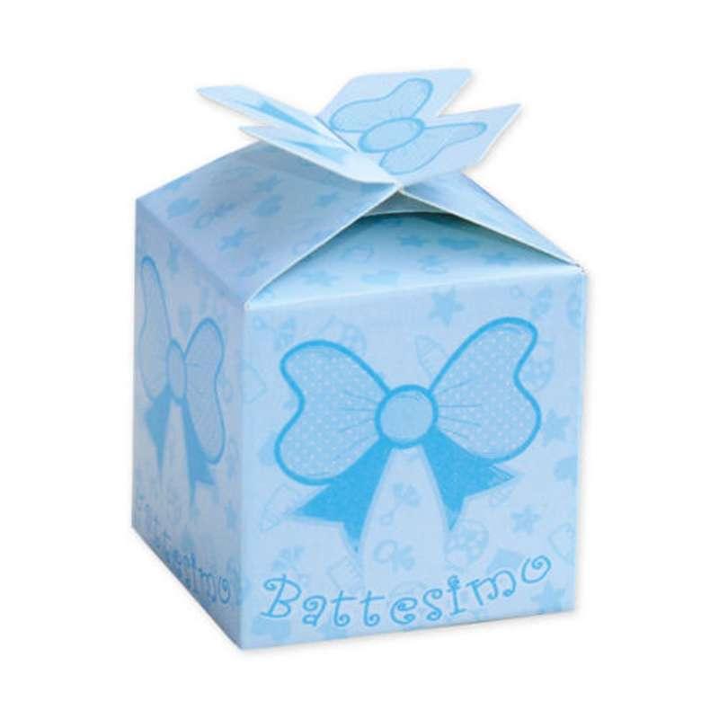 Scatoline Cubetto Portaconfetti Battesimo 25 Pz Bomboniere Vintage Battesimo Festa Di Battesimo
