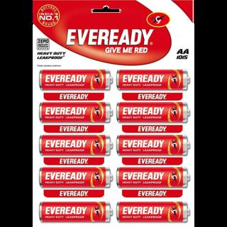 Eveready Heavy Duty Aa Battery Red 1 5v Give It To Me Aa Batteries Heavy Duty