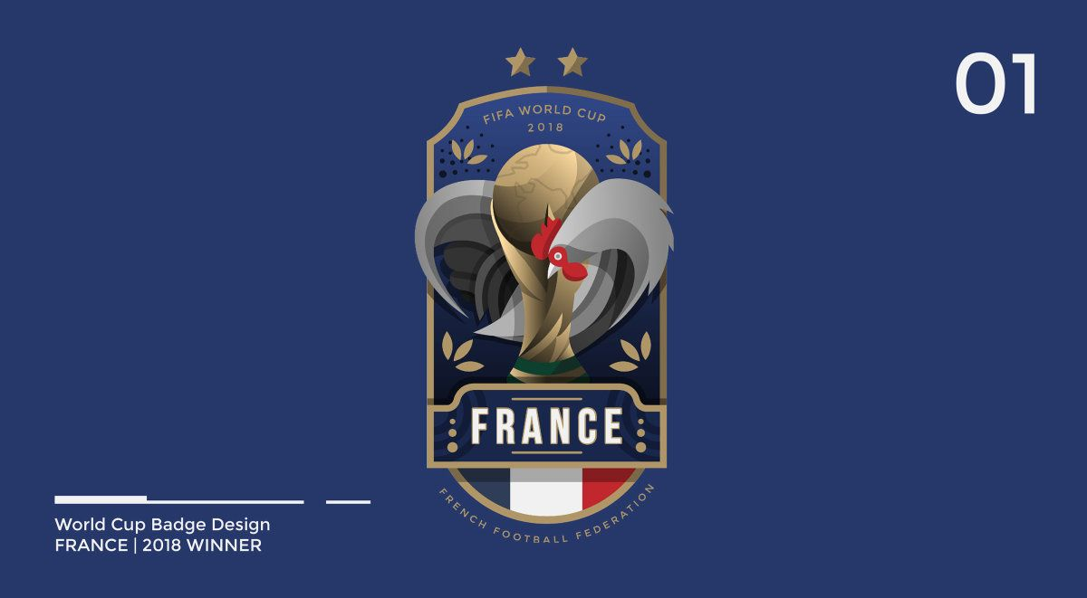 Designer Brilliantly Redesigned All The World Cup Badges During The Tournament Ultralinx Badge Design Team Badge World Cup Teams