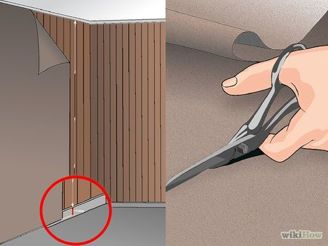 How To Cover Wood Paneling Paneling Makeover Cover Wood