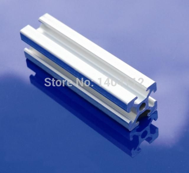 Perfil de aluminio Perfil De Extrusión De Aluminio 2020 20*20 marco ...