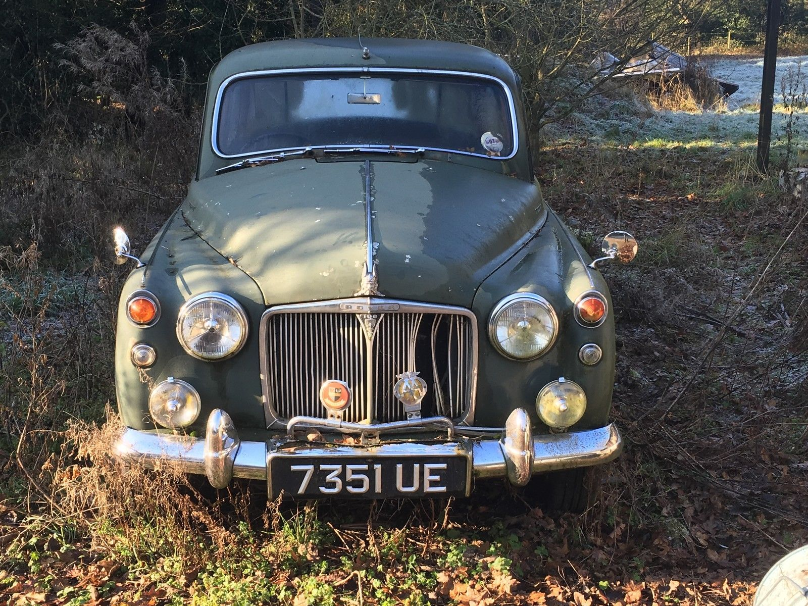 Rover 100 P4 low mileage restoration project https://rover.ebay.com ...