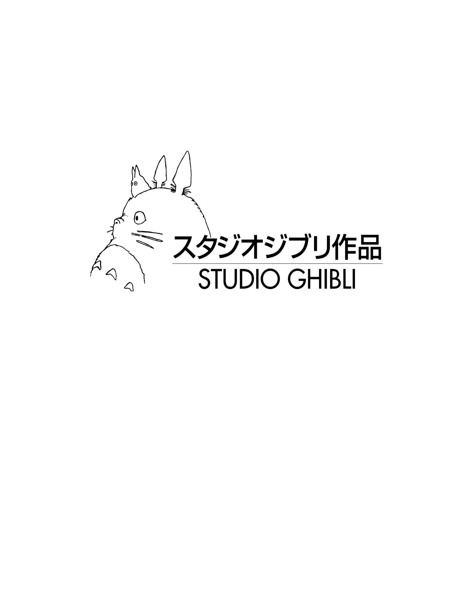 Studio Ghibli White Background Studio Ghibli White Background Studio