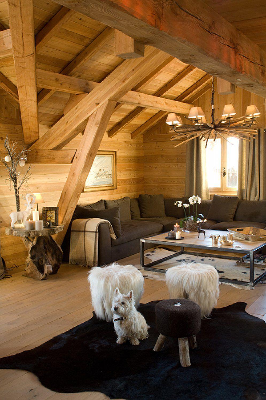 Photo de chalets, maisons ossature bois et architecture d\'intérieure ...
