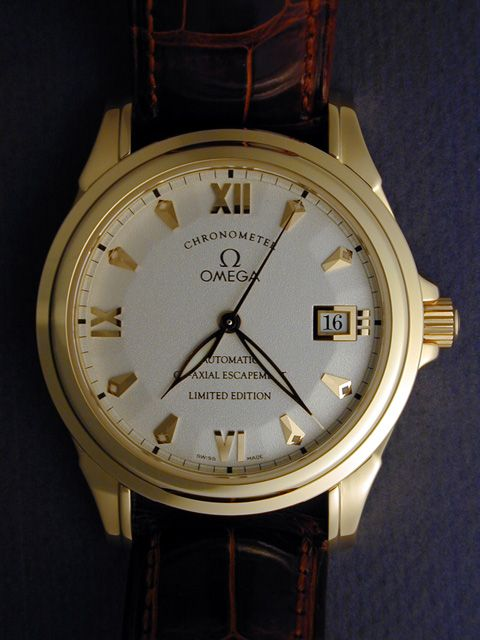 The Omega Deville Co Axial Escapement Limited Edition Classic Watches Omega Rolex Oyster