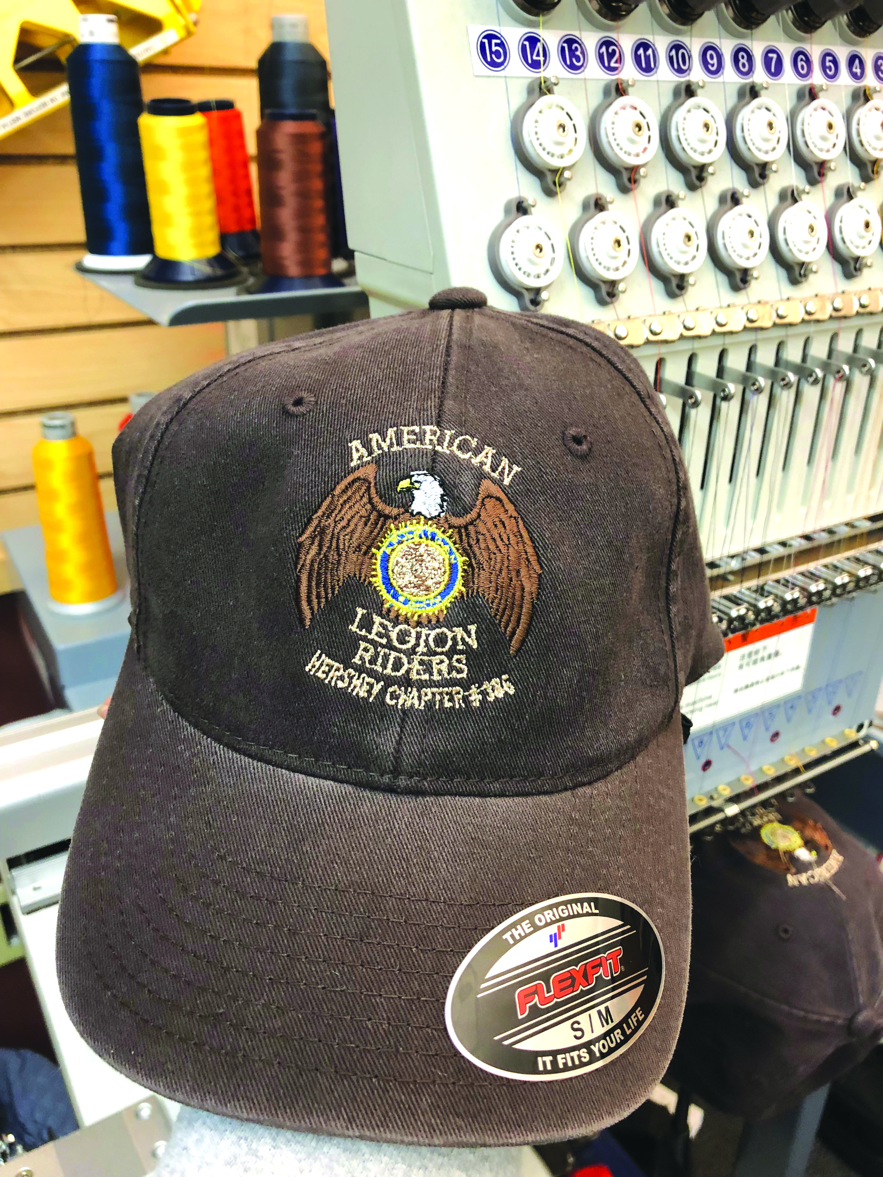 Local American Legion Riders Hershey Chapter  386.They provided the logo 29a0c8fe5b3
