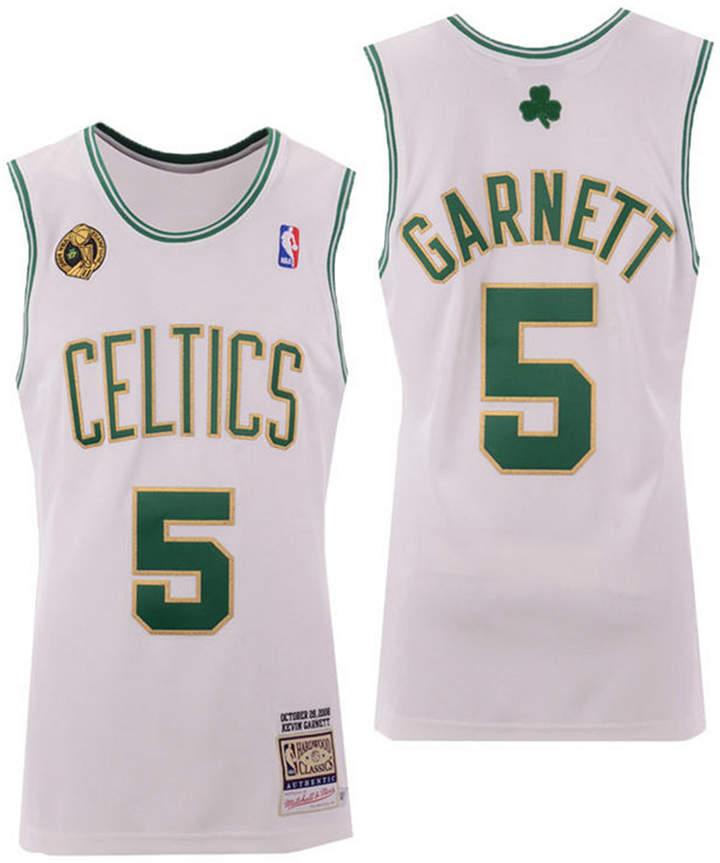 8426f54f Mitchell & Ness Men's Kevin Garnett Boston Celtics Authentic Jersey ...