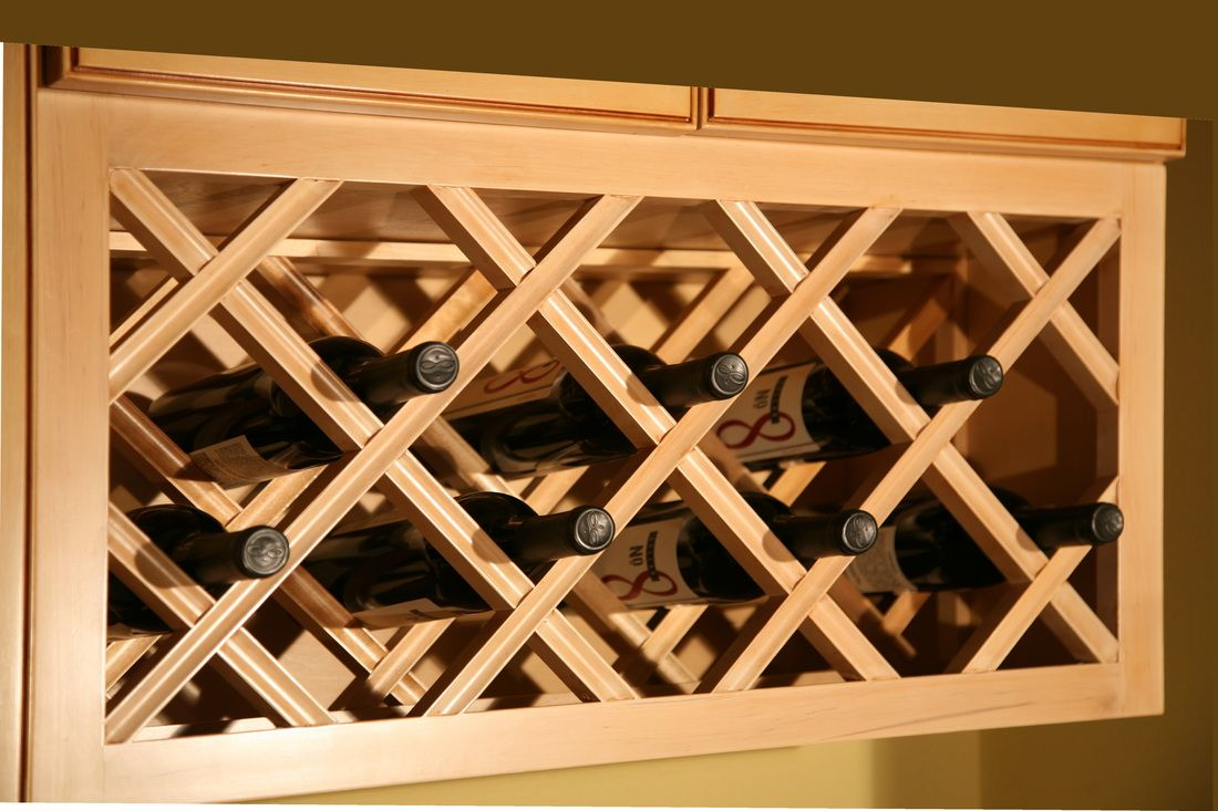 "Wine Cabinet from ""Specialty Kitchen Cabinets"""