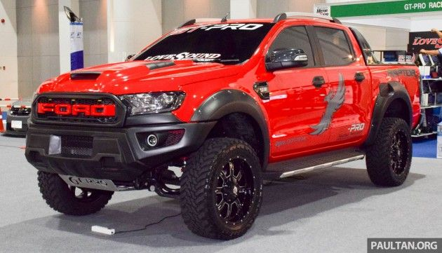Ford Ranger Raptor Aftermarket Kit Debuts In Bangkok Ford Ranger Raptor Ford Ranger Wildtrak Ford Ranger