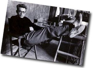 25bdc283c0c55c James Dean wearing Converse Jack Purcells