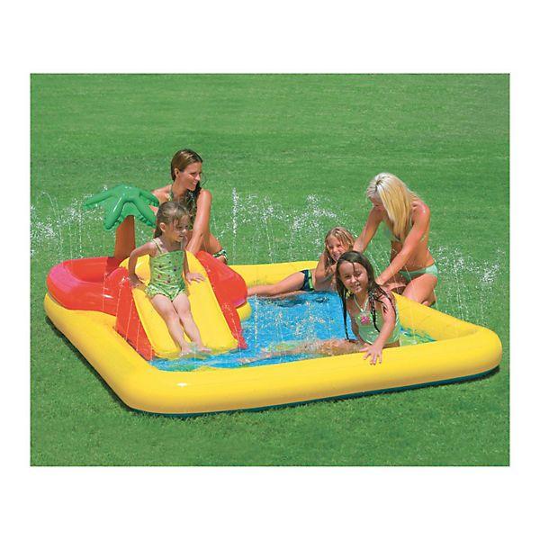Kinder Baby Pool Planschbecken Kinderpool Wasserrutsche Zubehör  Schwimmbecken