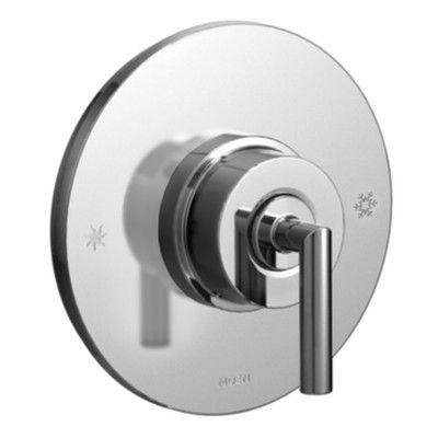 Moen Arris Pressure Balance Faucet Trim with Lever Handle Finish: Chrome