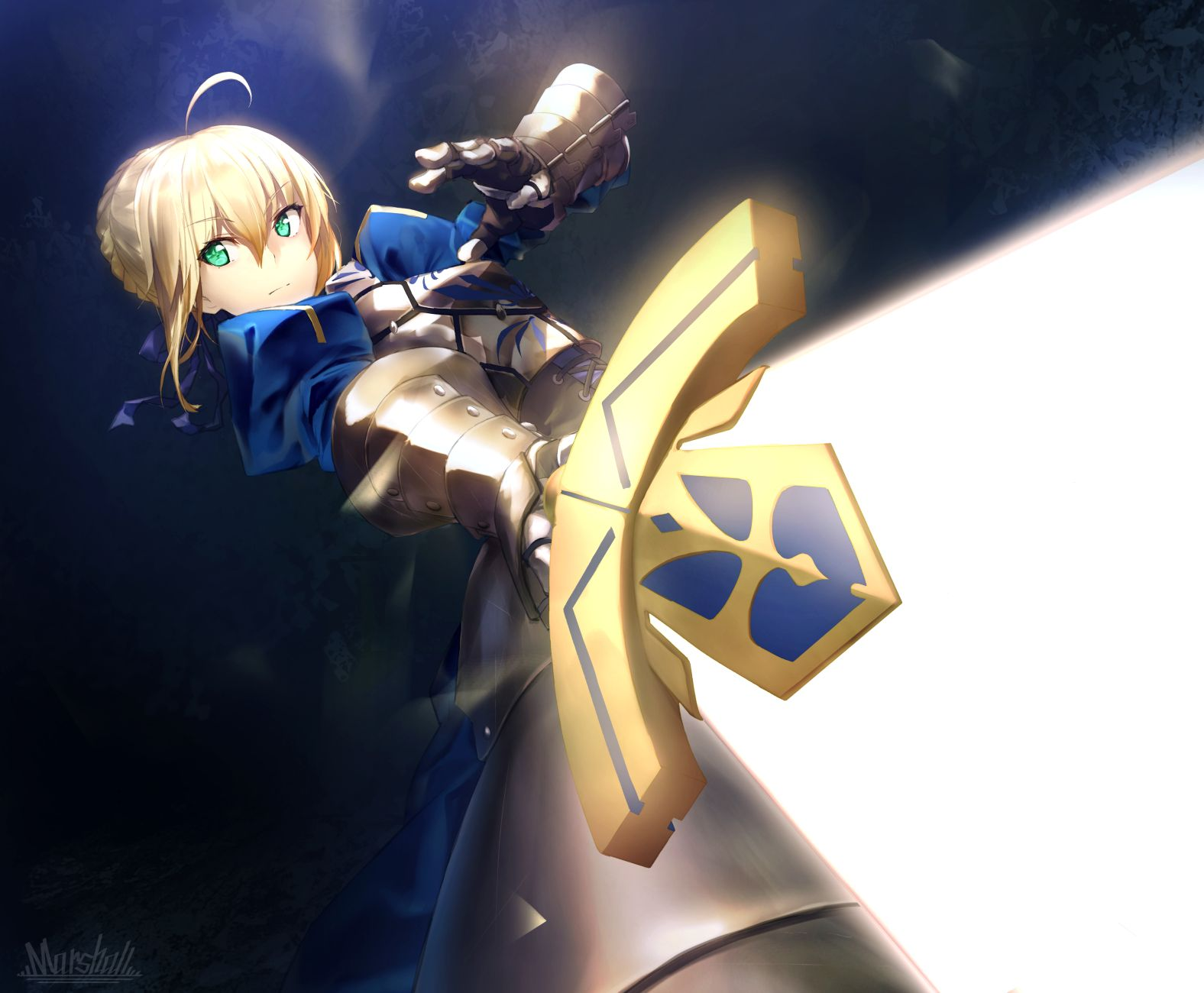 Saber Artoria Fate anime series, Fate stay night