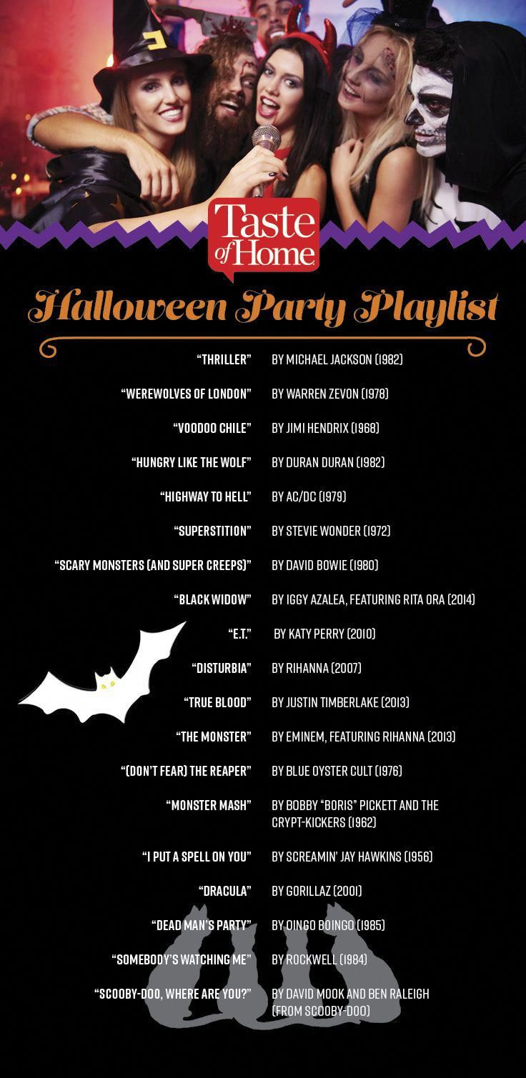 Spooky Songs and Terrifying Tunes for Your Halloween Party