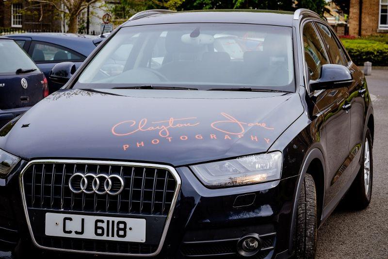Vehicle Sign Writing Clayton Jane Photography Sign Writing