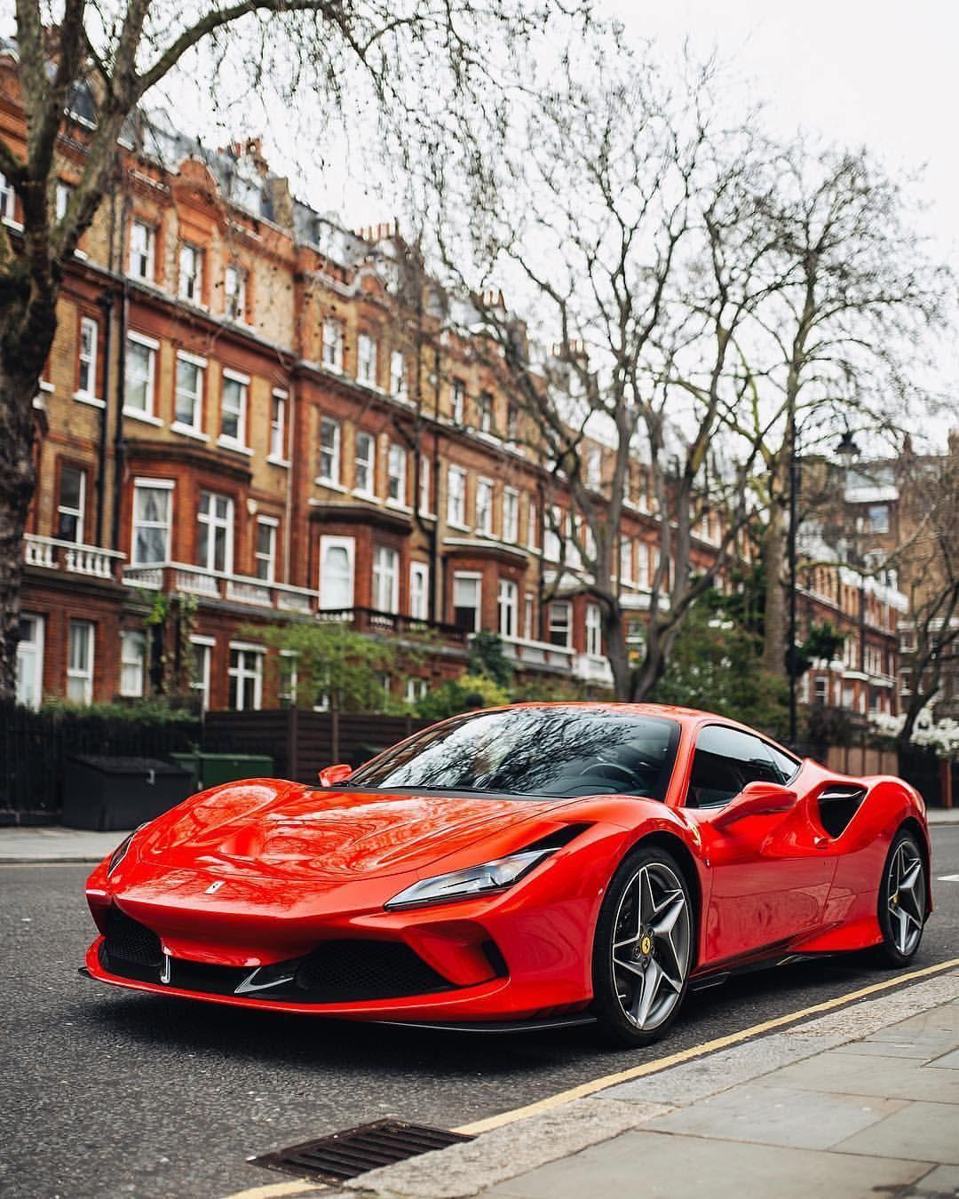 F8 Tributo Interior: The Ferrari F8 Tributo In London! @hrowenferrari