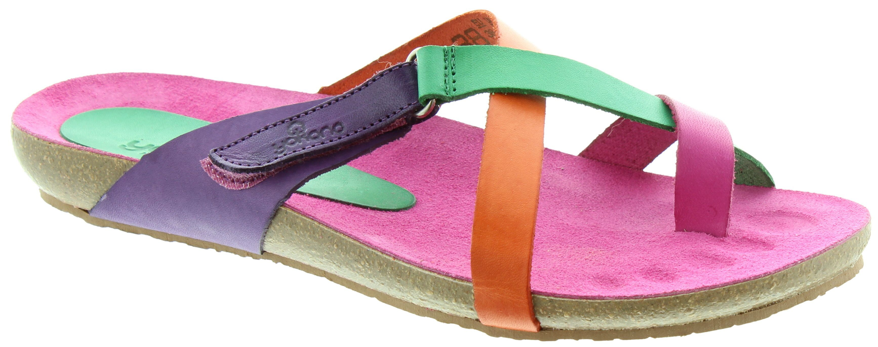 Shop the Yokono 581 Toe Loop Sandals in Pink Multi in Pink Multi at Jake  Shoes