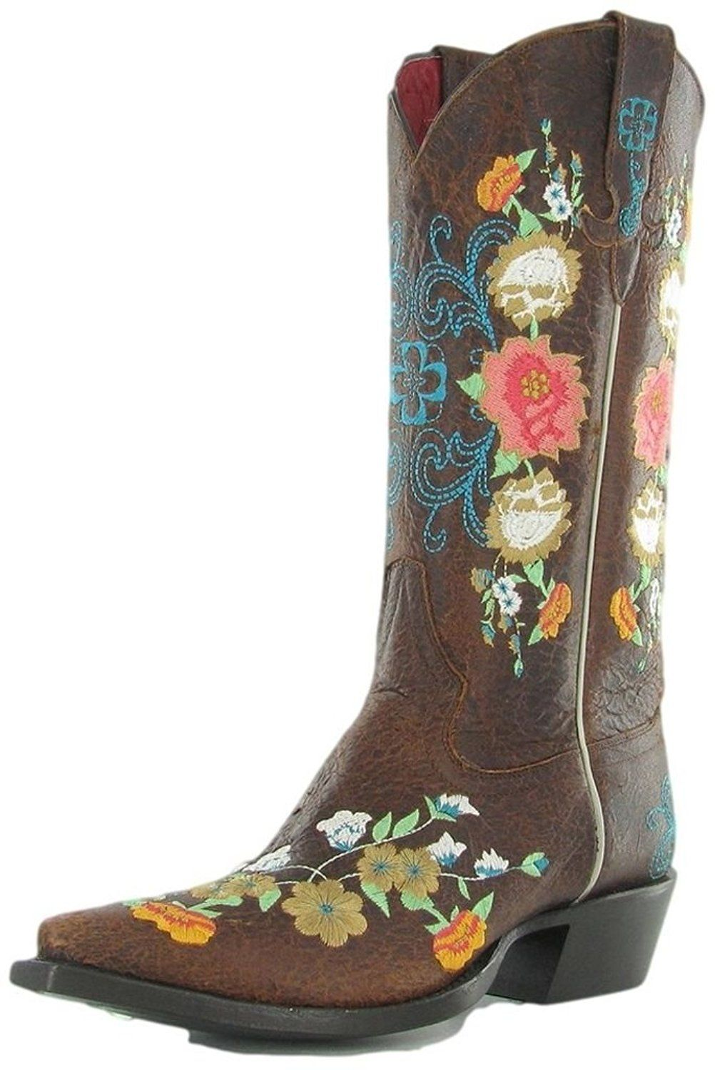 24325247df0c Macie Bean Western Boots Womens Cowboy Floral Sweet Sixteen M8031    This  is an Amazon Affiliate link. Check out this great product.