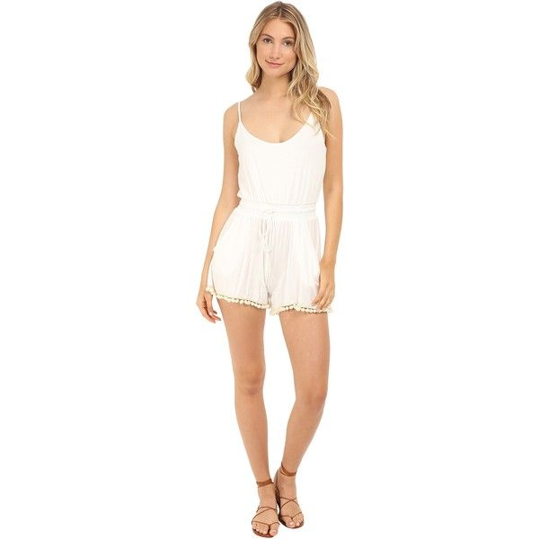 aa878db77776 Lucy Love Riley Romper (Ivory) Women s Jumpsuit   Rompers One Piece ( 26)