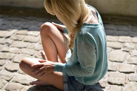 "#SS14 - frauen - cashmere pullover ""double layer button"". #buttonsintheback #summercashmere #soft #neyomadeinnepal"