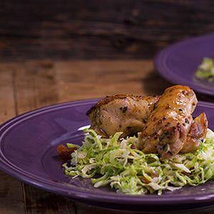 Garlic Sage Boneless Skinless Chicken Thighs Rachael Ray Show Thyme Garlic Lemon