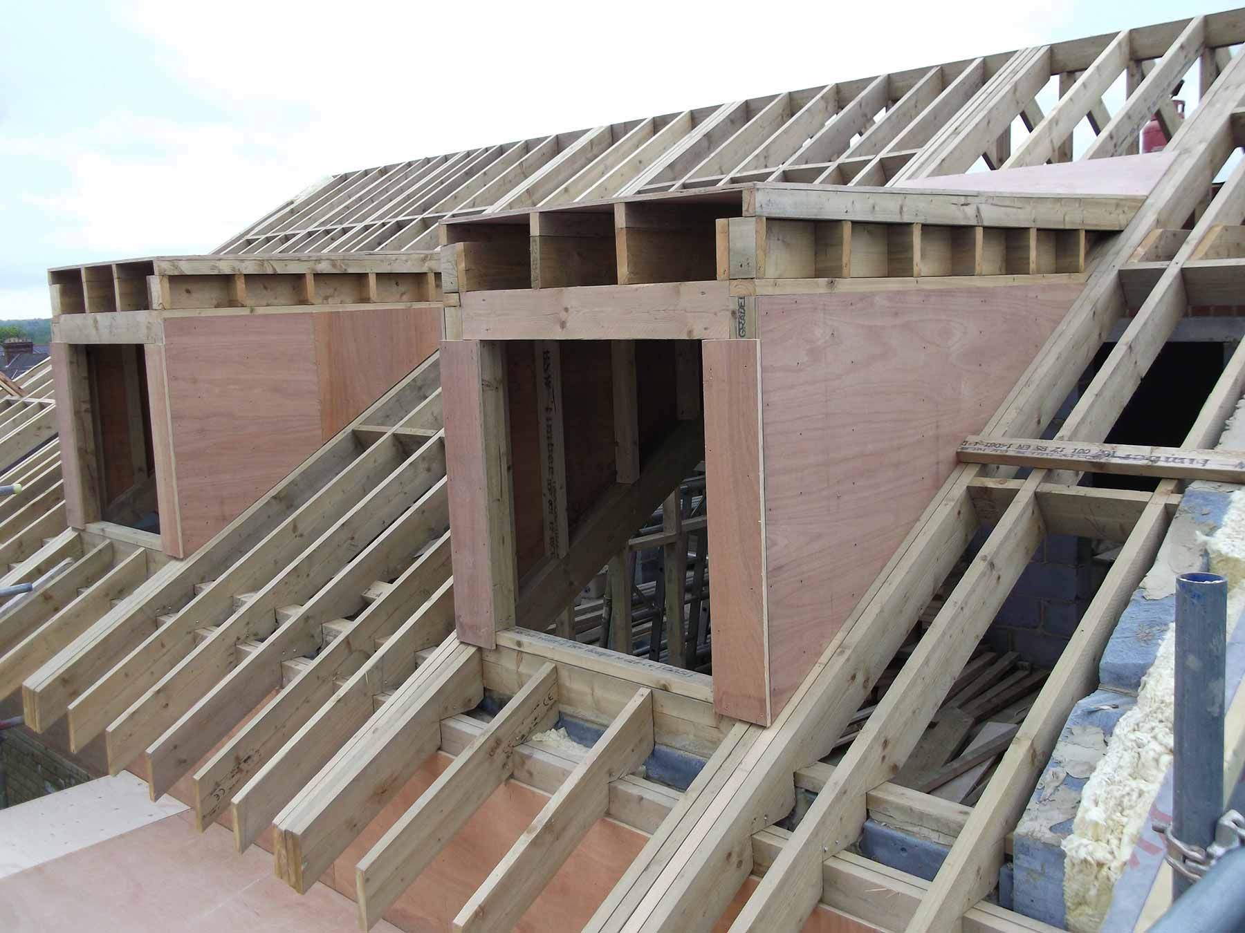 Loft conversion dormer with french doors google search for Dormer window construction drawings