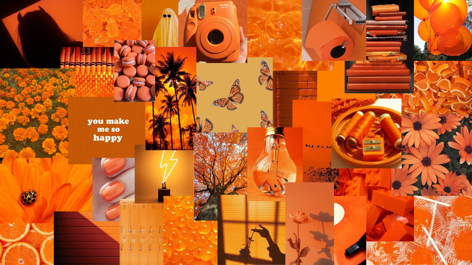 athestic orange laptop wallpaper orange wallpaper